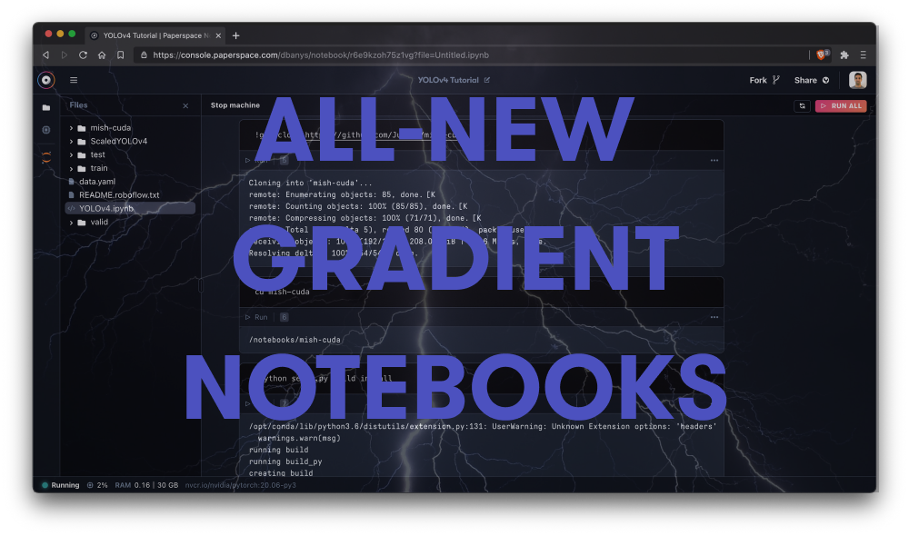 Gradient Notebooks just got the biggest update since 2019