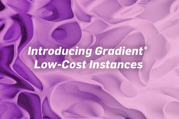 Introducing Gradient° Low-Cost  instances