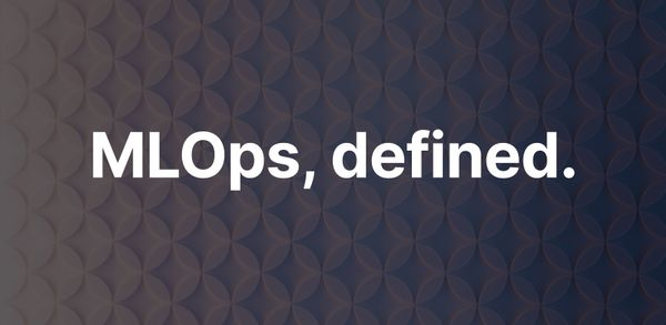 What is MLOps?